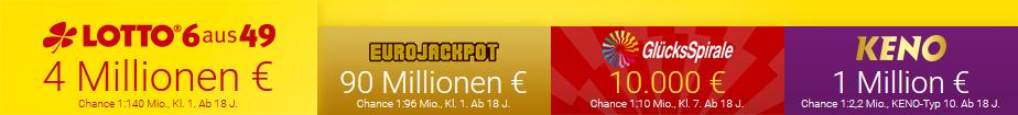 Lotto.de Spielangebot